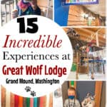 15 Incredible Experiences at Great Wolf Lodge Grand Mound, Washington