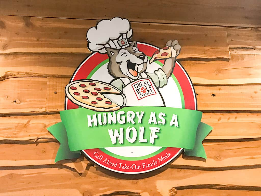 Hungry as a Wolf Restaurant at Great Wolf Lodge Washington