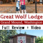 Great Wolf Lodge Grand Mound, Washington Full Review + Video