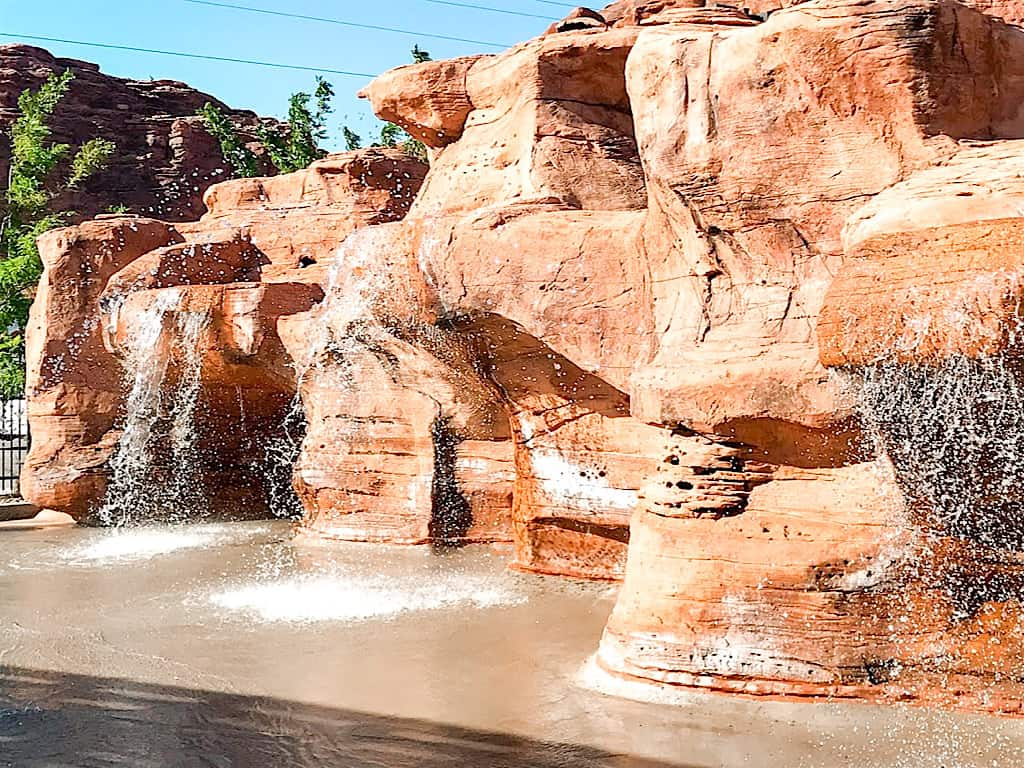 Splash Pad at Springhill Suites in Moab