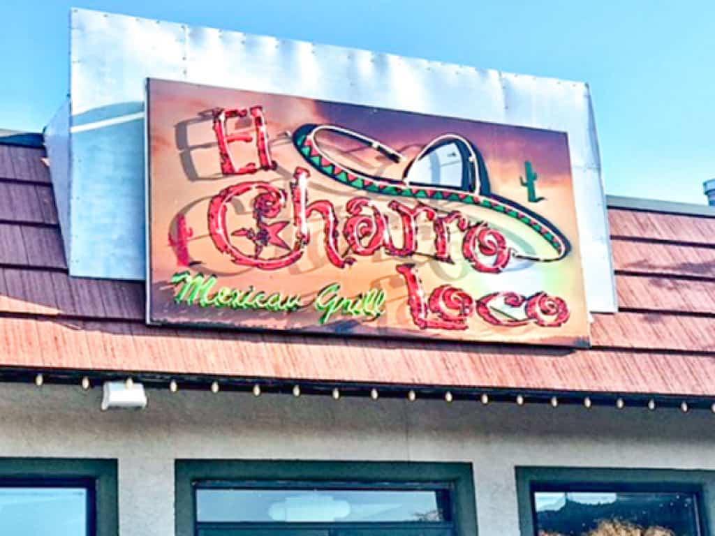 El Charro Loco Mexican Grill in Moab, Utah