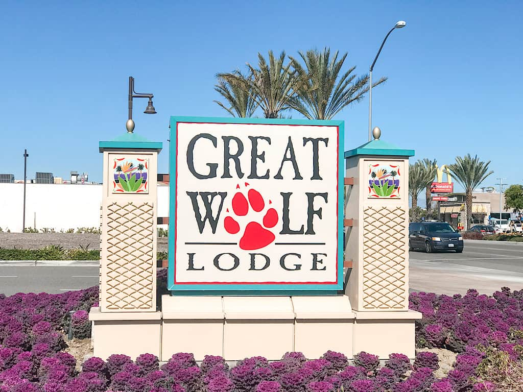 A review of Great Wolf Lodge Southern California located in Anaheim, California near Disneyland. Stays include a full water park and fun activities!