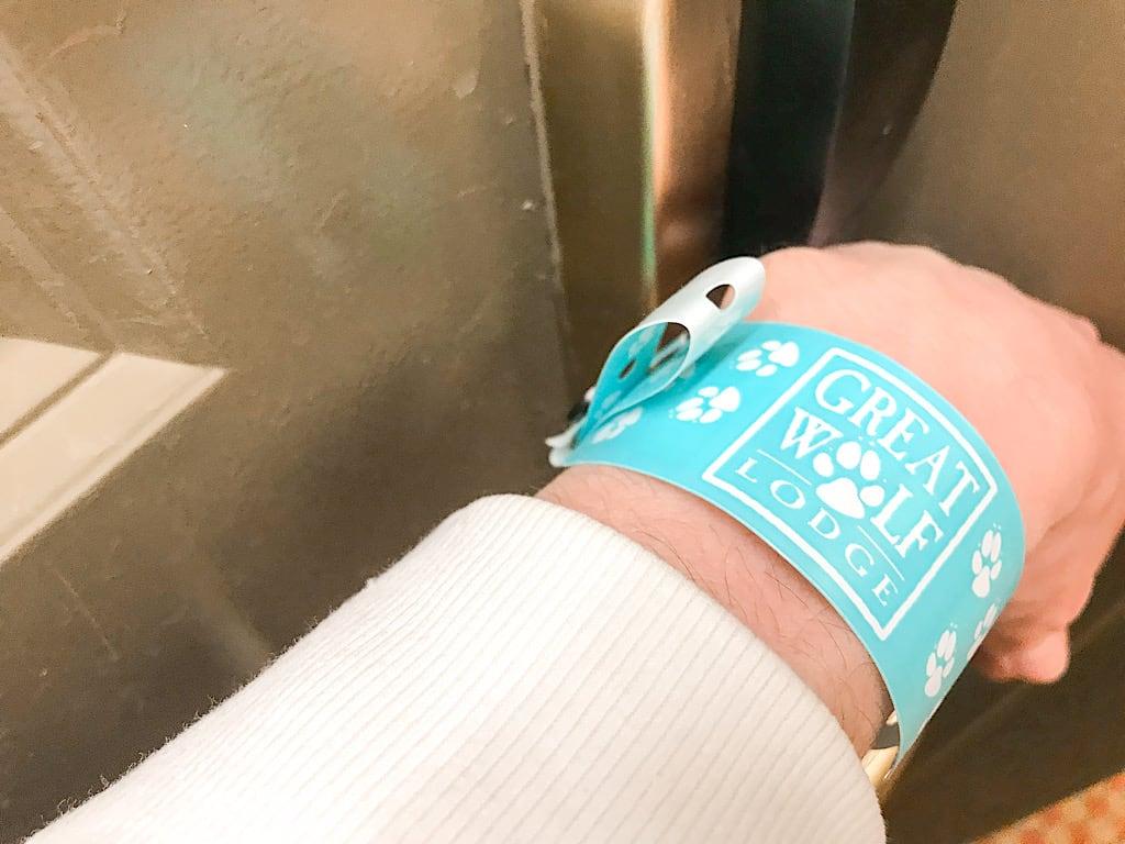 Great Wolf Lodge wristband key