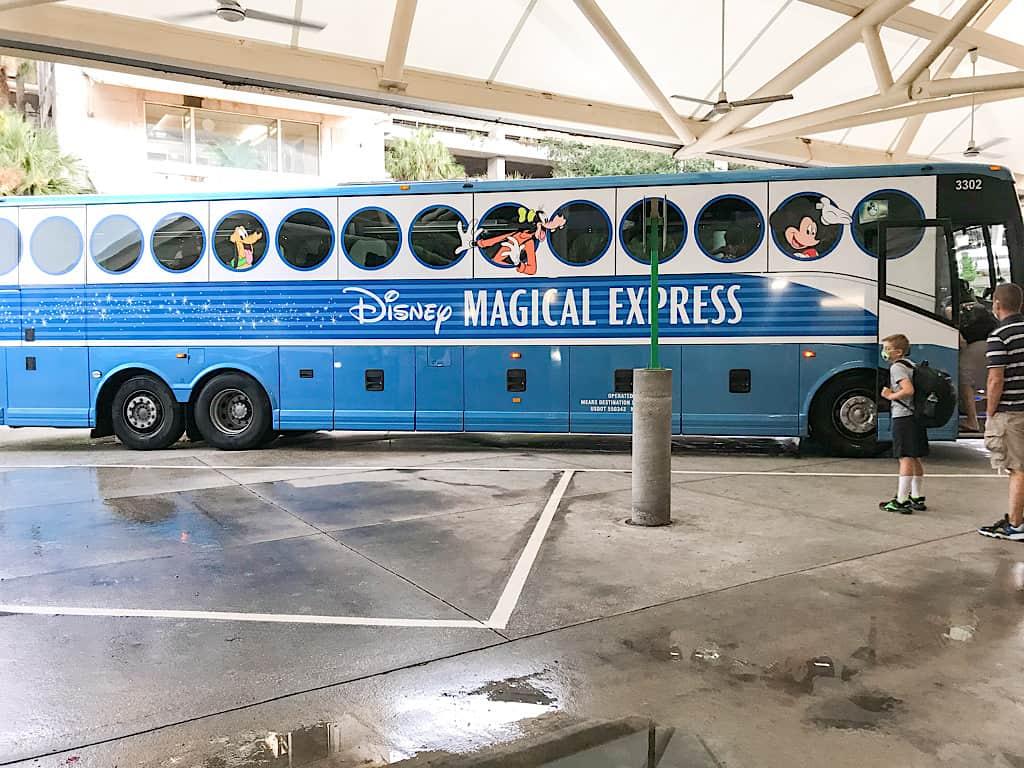 Disney's Magical Express Bus at Orlando Airport