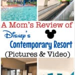 A Mom's Review of Disney's Contemporary Resort (Pictures & Video)