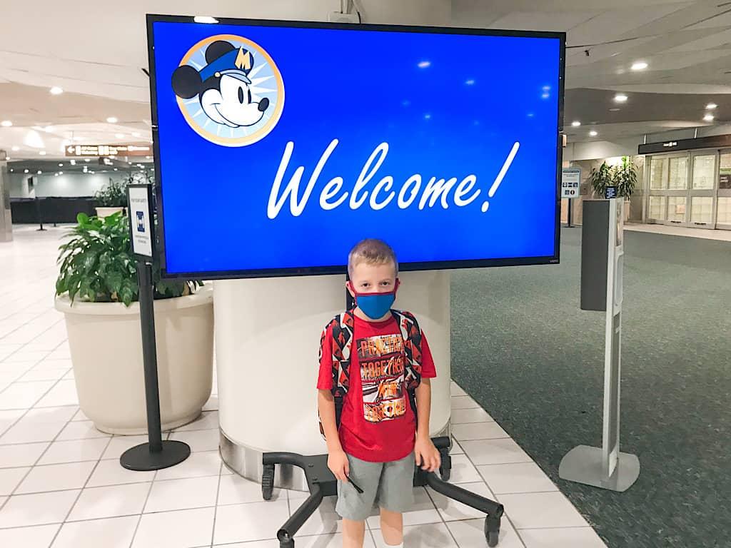 Magical Express Area at Orlando International Airport