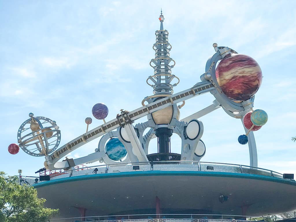 astro orbiter at Disney World
