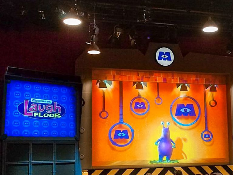 Inside view of Monsters, Inc. Laugh Floor at Disney's Magic Kingdom