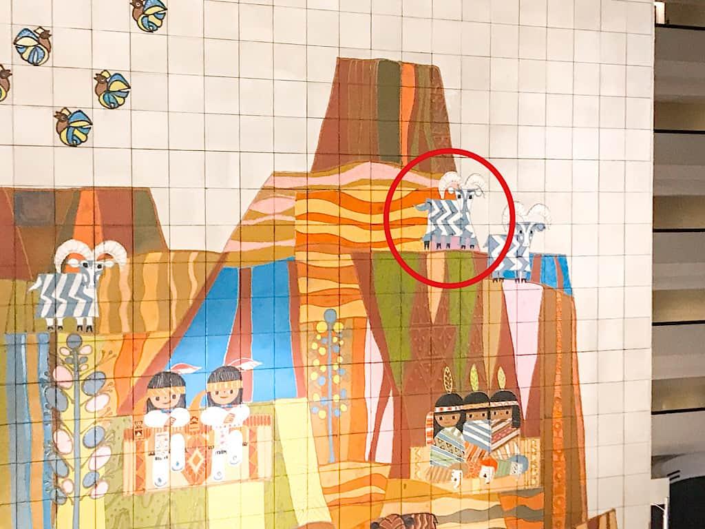 Mural at Disney's Contemporary Resort