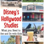 Disney's Hollywood Studios What you Need to See and Do with Kids