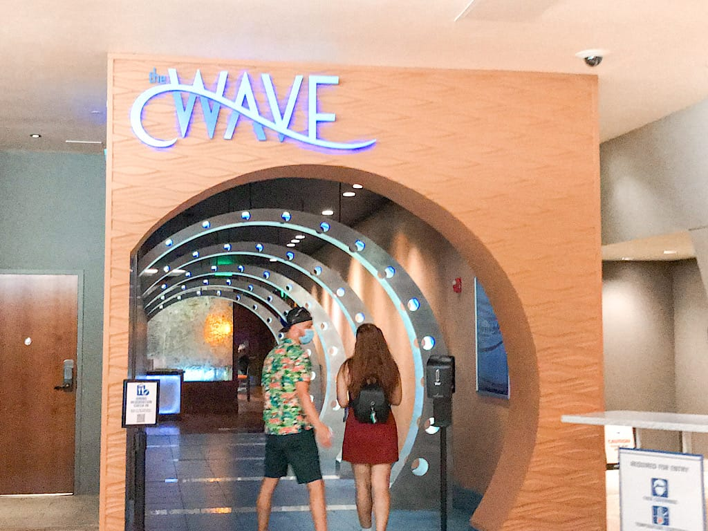 Entrance to the Wave of American Flavors at Disney's Contemporary Resort