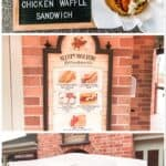 Disney's Sweet & Spicy Chicken Waffle Sandwich