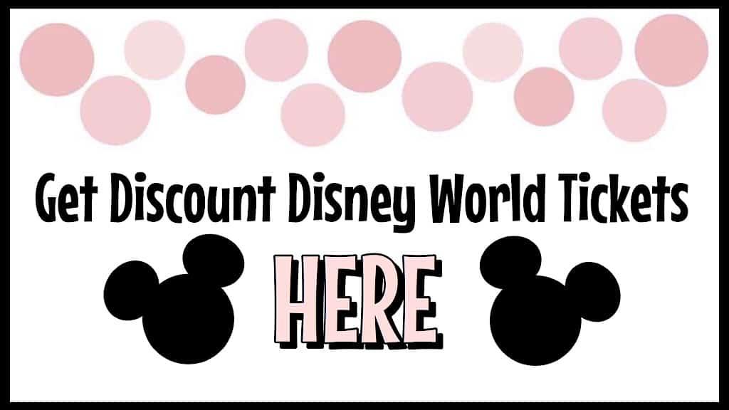 Get Discount Disney World Tickets Here