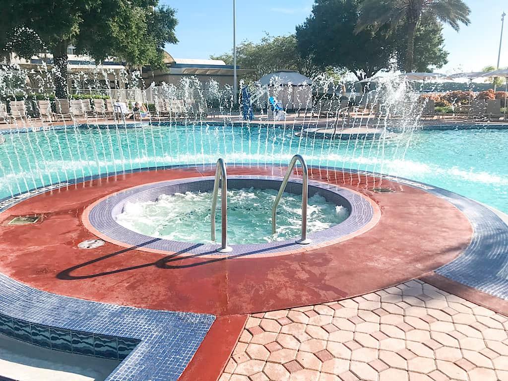 Hot Tub at Disney's Contemporary Resort