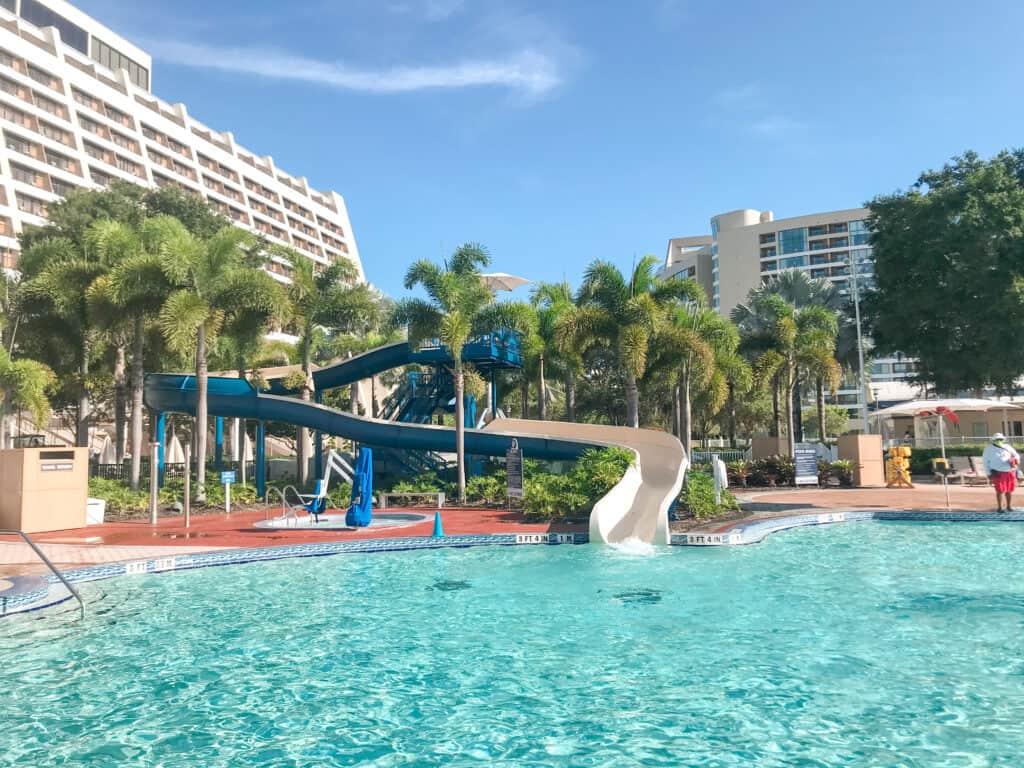 Water Slide at Disney's Contemporary Resort