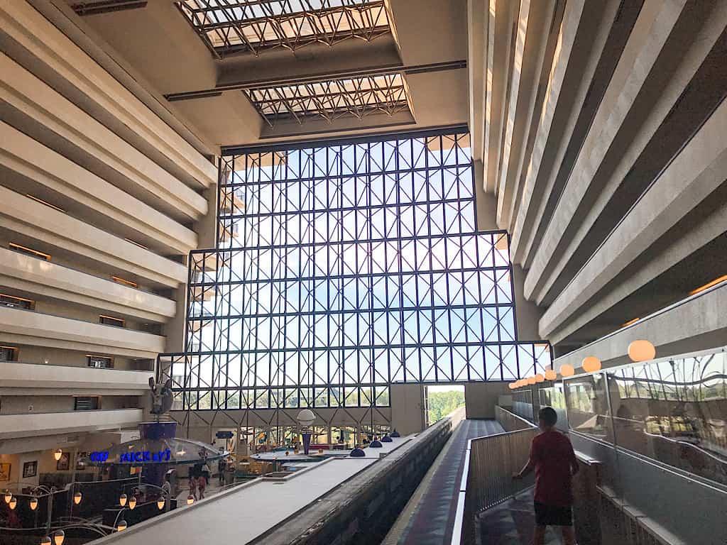 Atrium at Contemporary Resort