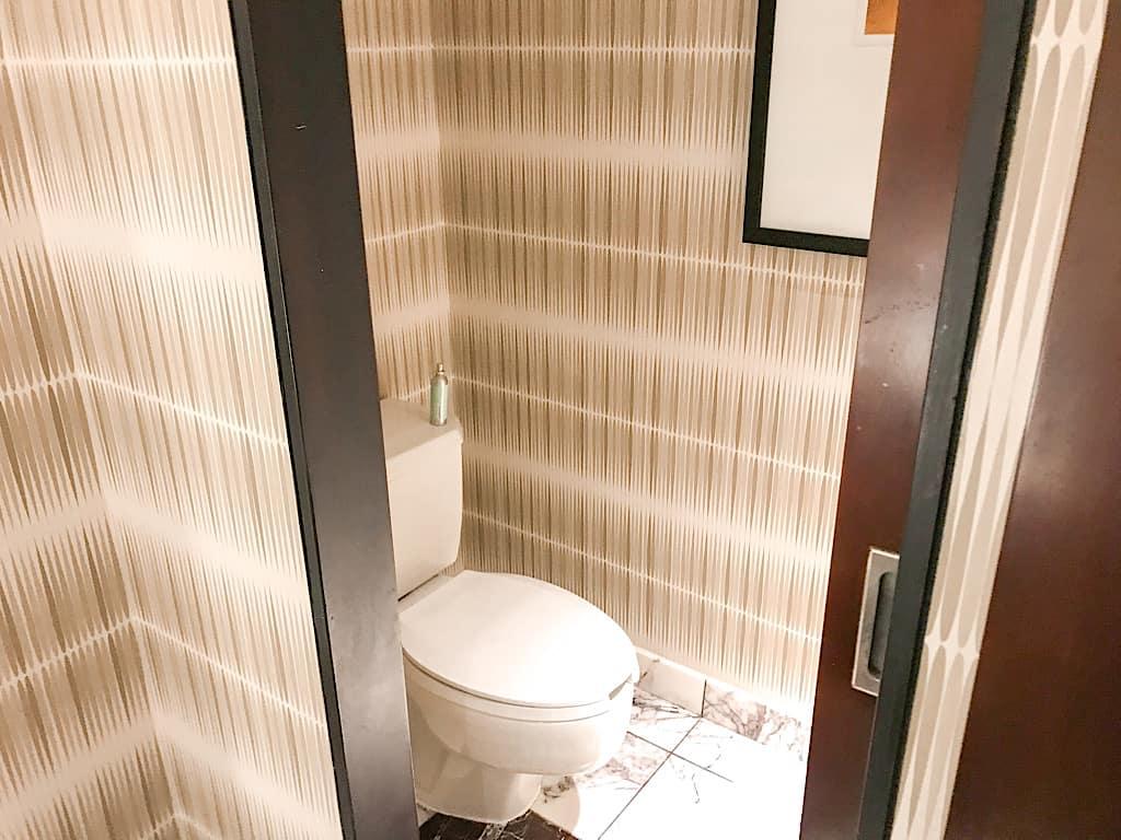 Bathroom in Garden Tower Suite at Disney's Contemporary Resort