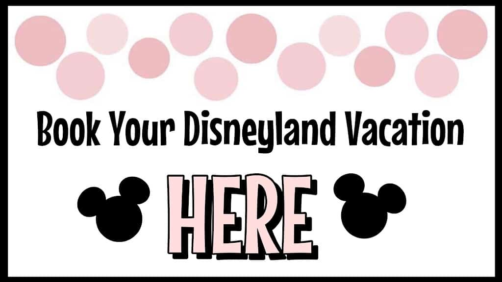 Book Your Disneyland Vacation Here
