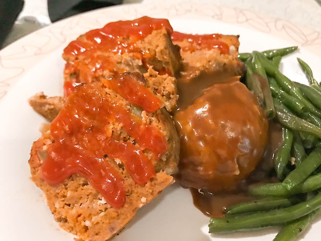 Cousin Megan's Traditional Meatloaf from 50's Prime Time Cafe