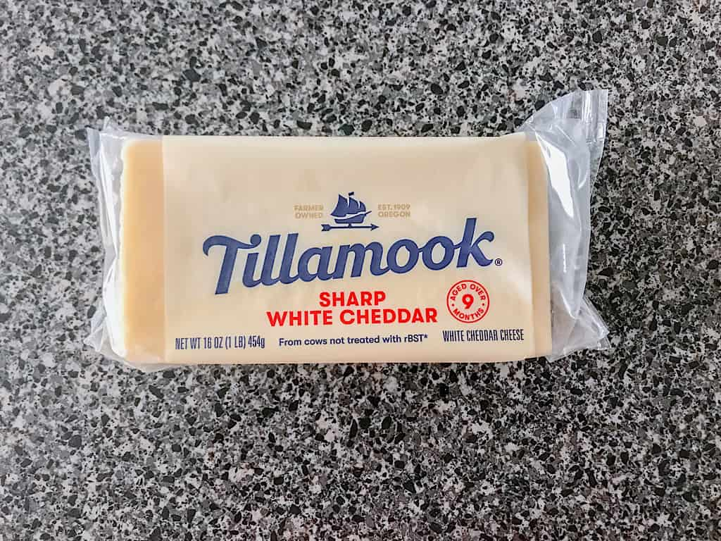 Tillamook Sharp White Cheddar Cheese
