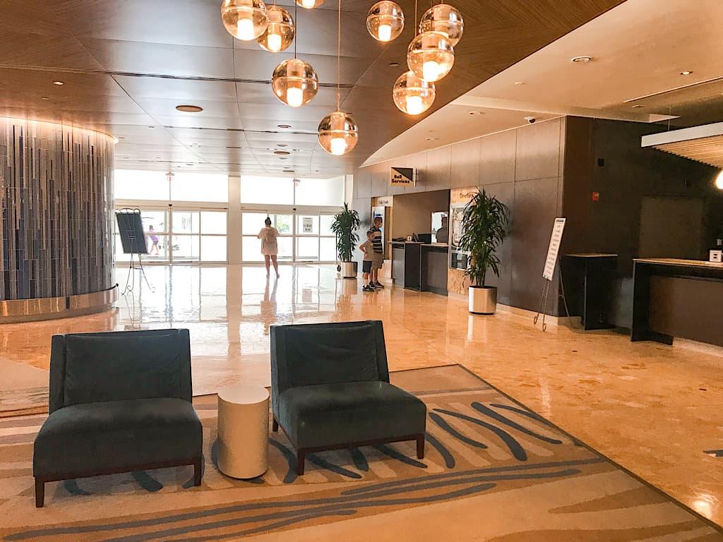 Lobby of Disney's Contemporary Resort