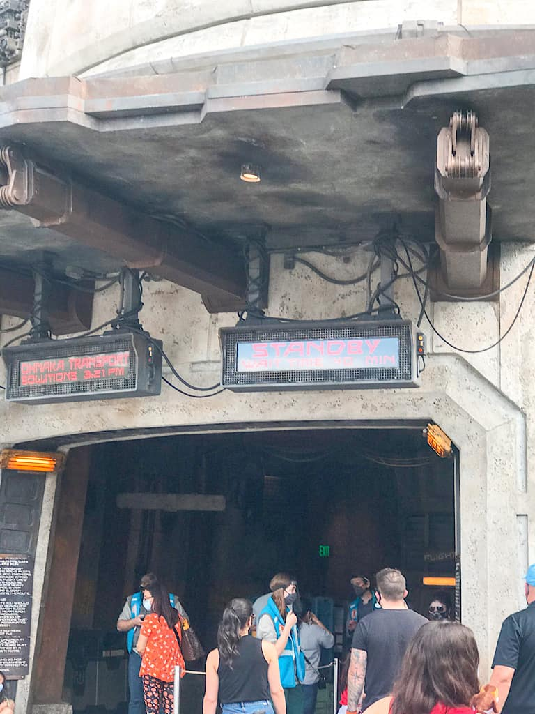 Entrance to Millennium Falcon