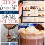 Copycat Ghirardelli Sea Salt Caramel Hot Cocoa