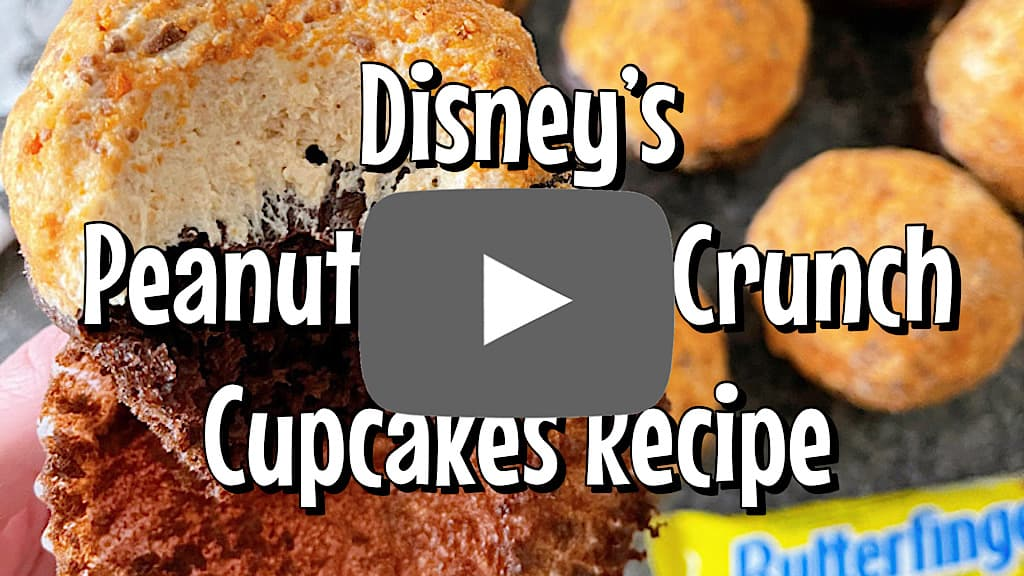 Youtube thumbnail for Disney's Peanut Butter Crunch Cupcakes Recipe Video