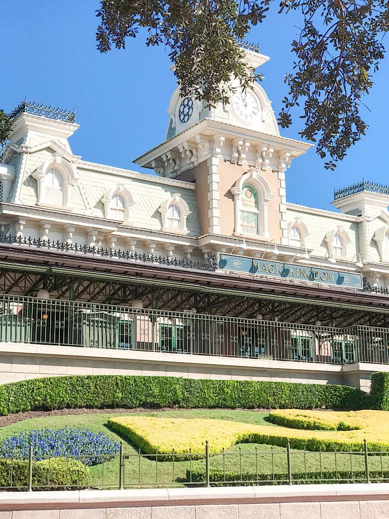 Train station at the entrance to Disney's Magic Kingdom Park