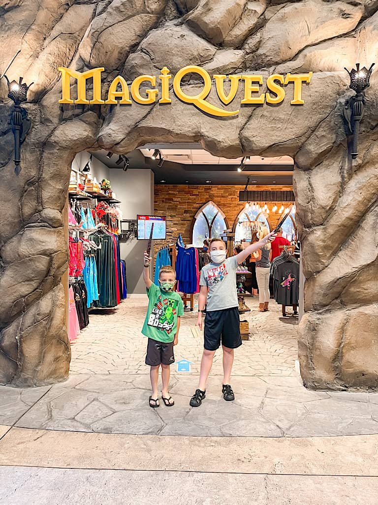 Entrance to MagiQuest included with a Wolf Pass at Great Wolf Lodge