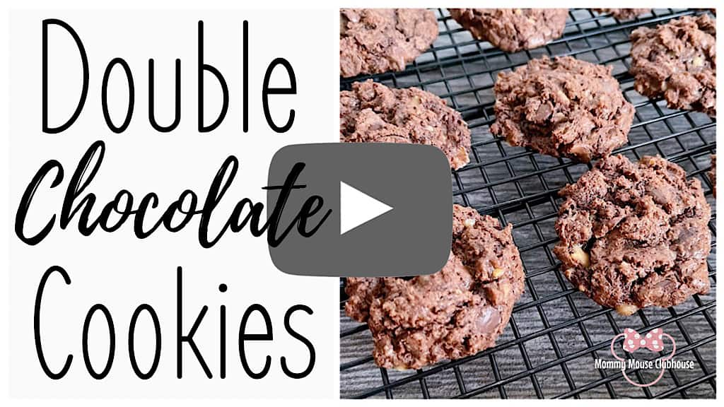Double Chocolate Cookies Video Thumbnail