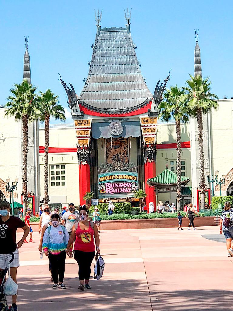 Mickey & Minnie's Runaway Railway at Disney's Hollywood Studios.