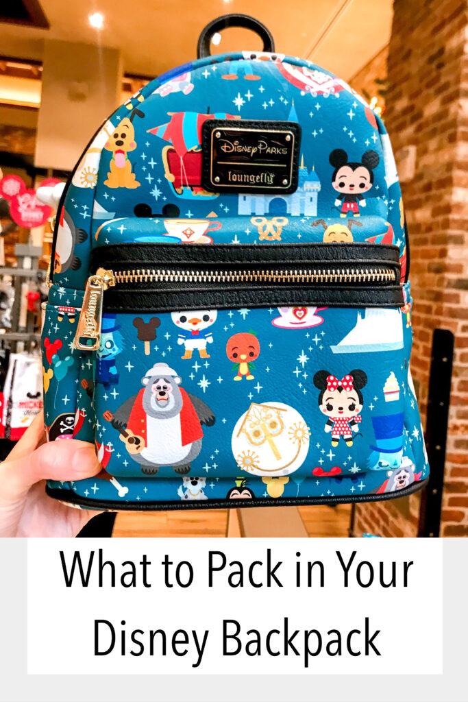 Disney Backpack Essentials