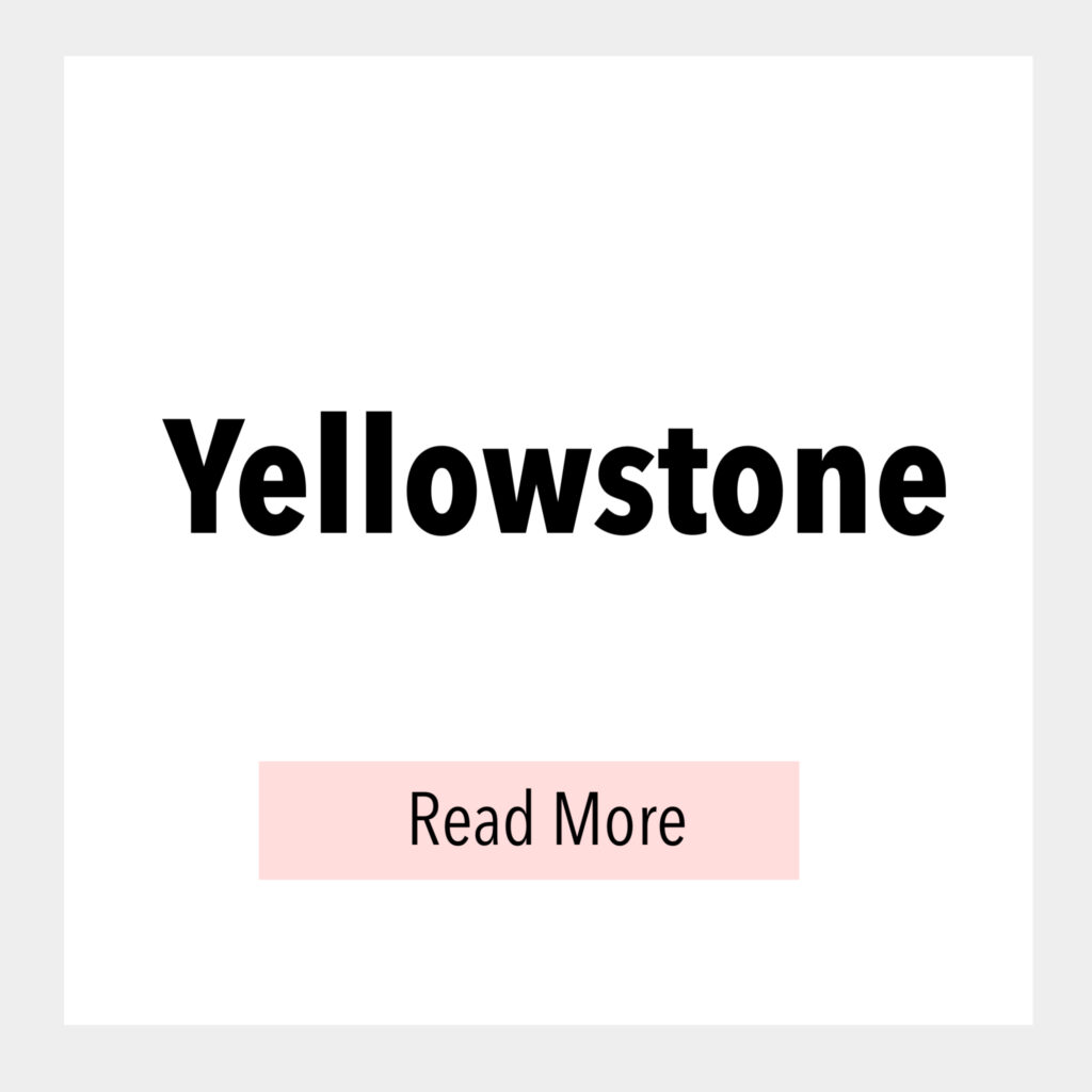 Text box that says, Yellowstone Read More