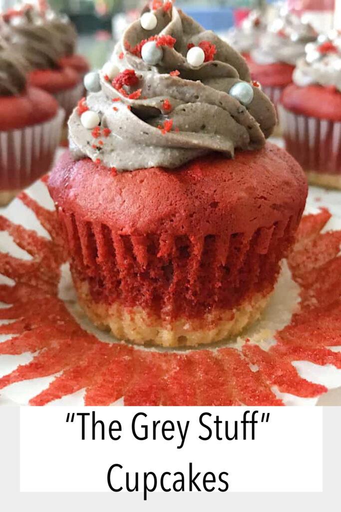 The Grey Stuff Cupcakes.
