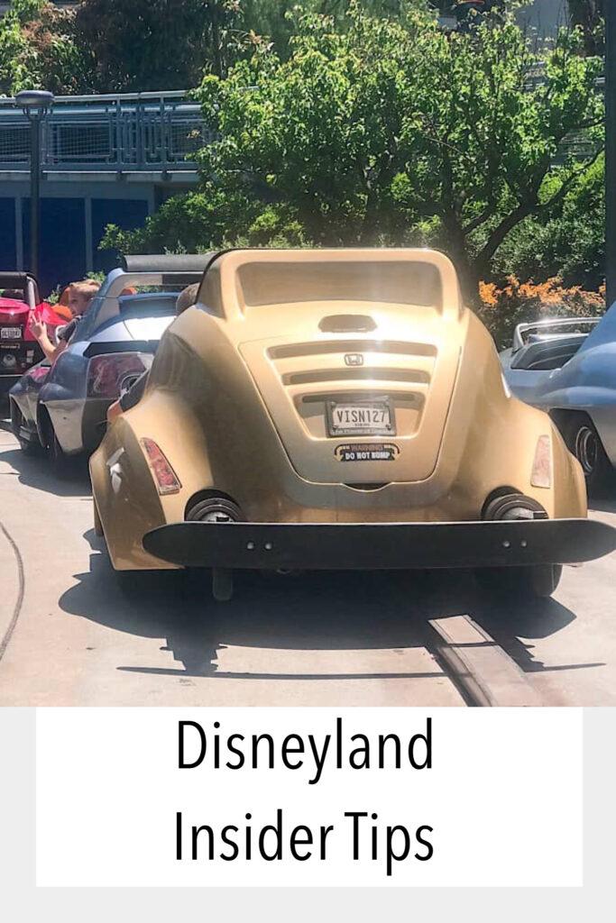 Disneyland Insider Tips