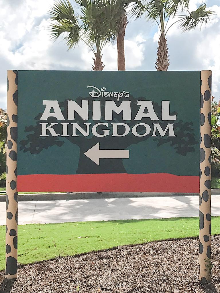 Disney's Animal Kingdom Sign.