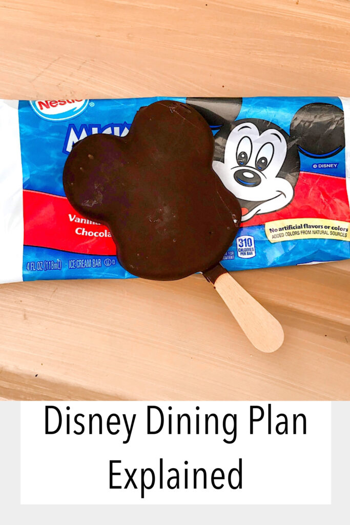 Disney Dining Plan Explained