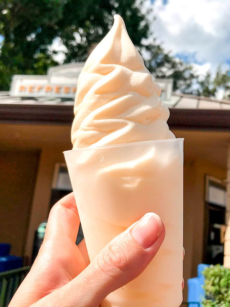 A Dole Whip at Epcot in Disney World.