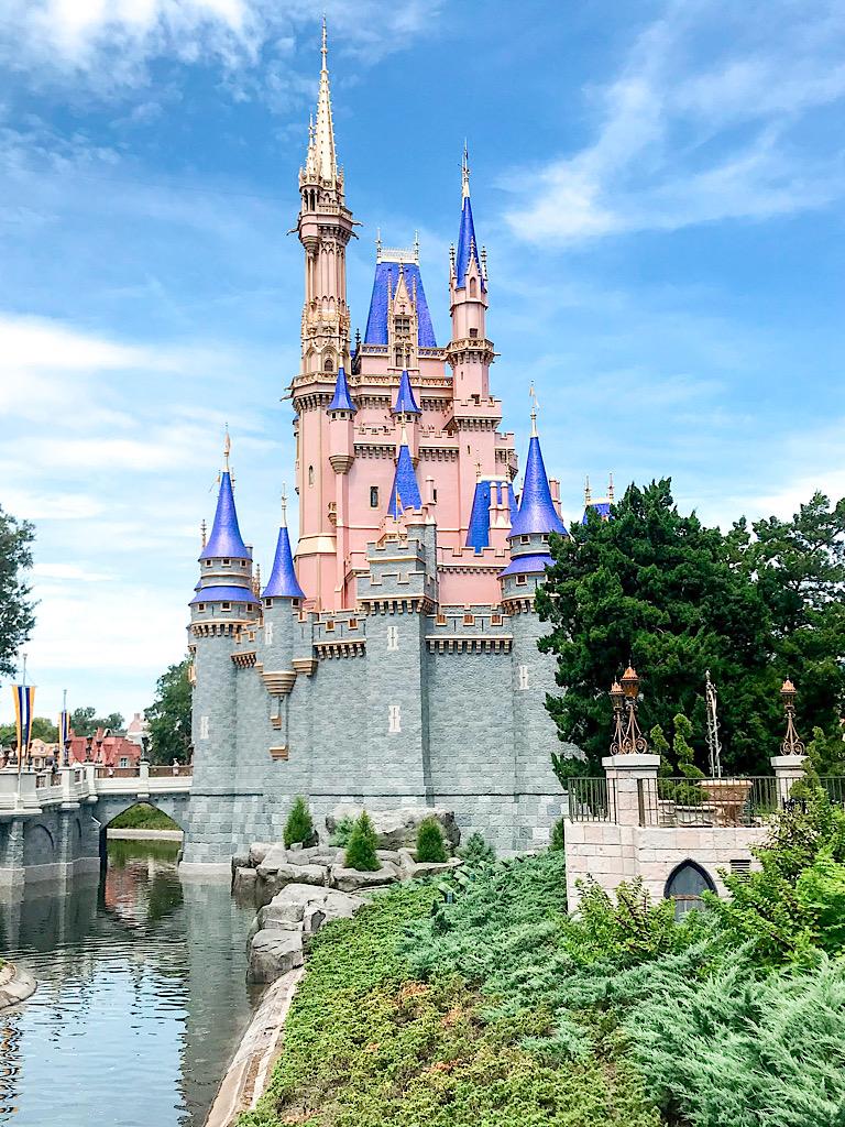 Cinderella Castle at Disney's Magic Kingdom.
