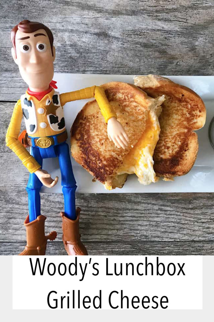Toy Story Land Grilled Cheese.
