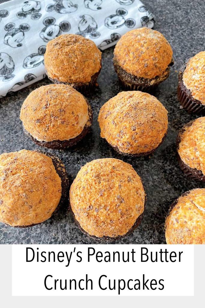Disney's Peanut Butter Crunch Cupcakes