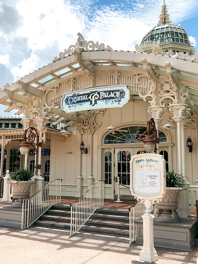 Crystal Palace Restaurant at Disney World.