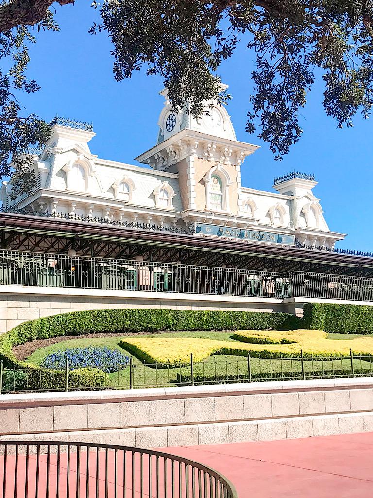 Disney World Train Station