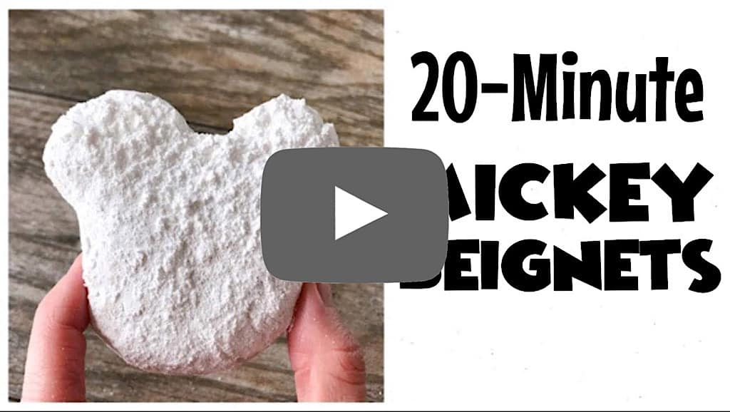YouTube thumbnail for 20 Minute Mickey Beignets