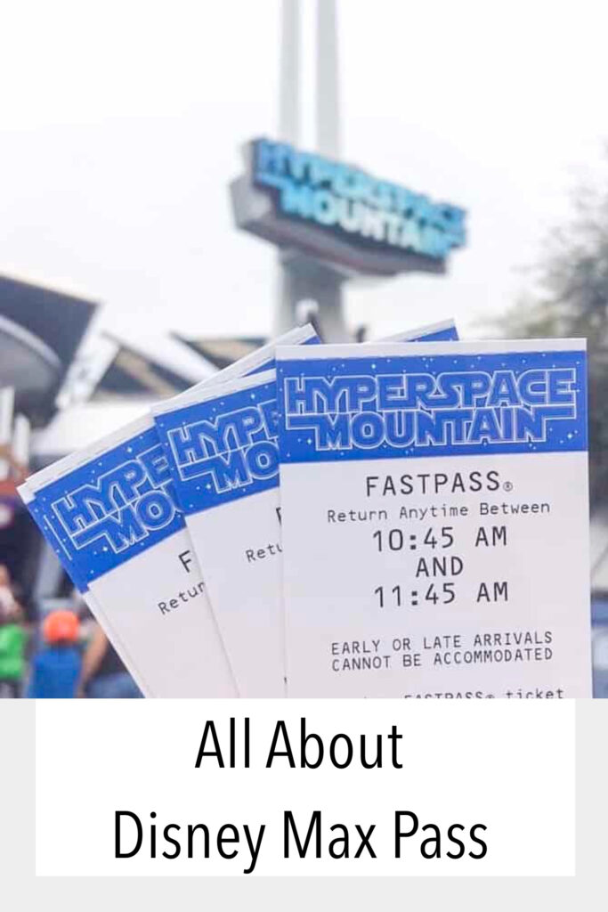 All About Disney Max Pass