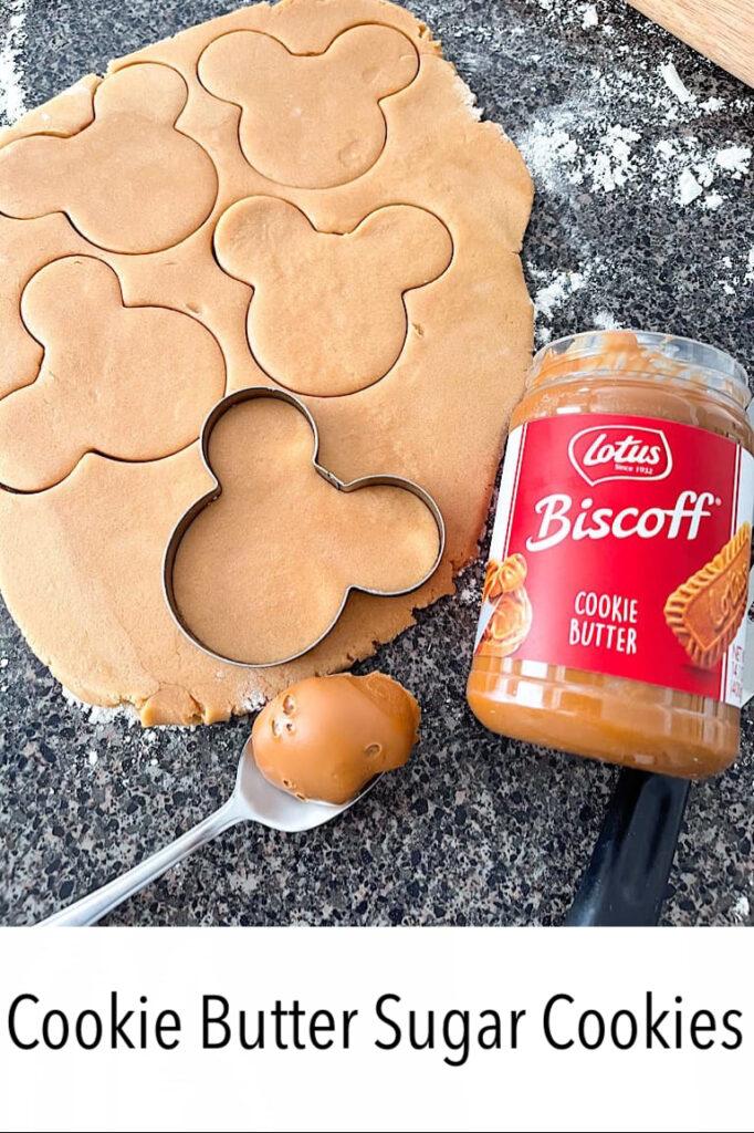 Cookie Butter Sugar Cookies
