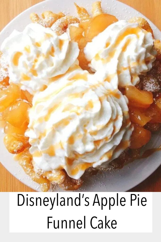 Apple Pie Funnel Cake