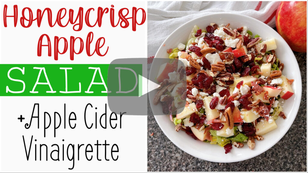 YouTube thumbnail for Honeycrisp Apple Salad.