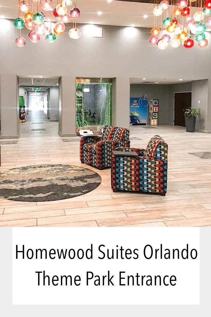 Homewood Suites Orlando Theme Park Entrance